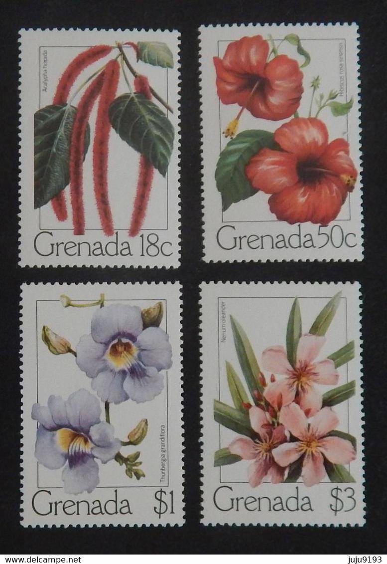 "GRENADE MI 956/959 NEUFS**MNH ""FLEURS"" ANNÉE 1979 - Grenada (1974-...)"