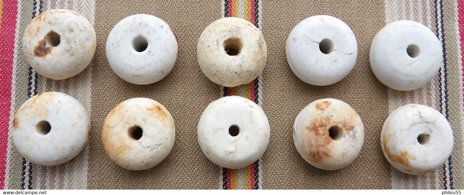 Lot De 10 Perle De Grenade Allemand WWI Fouille - Armi Da Collezione