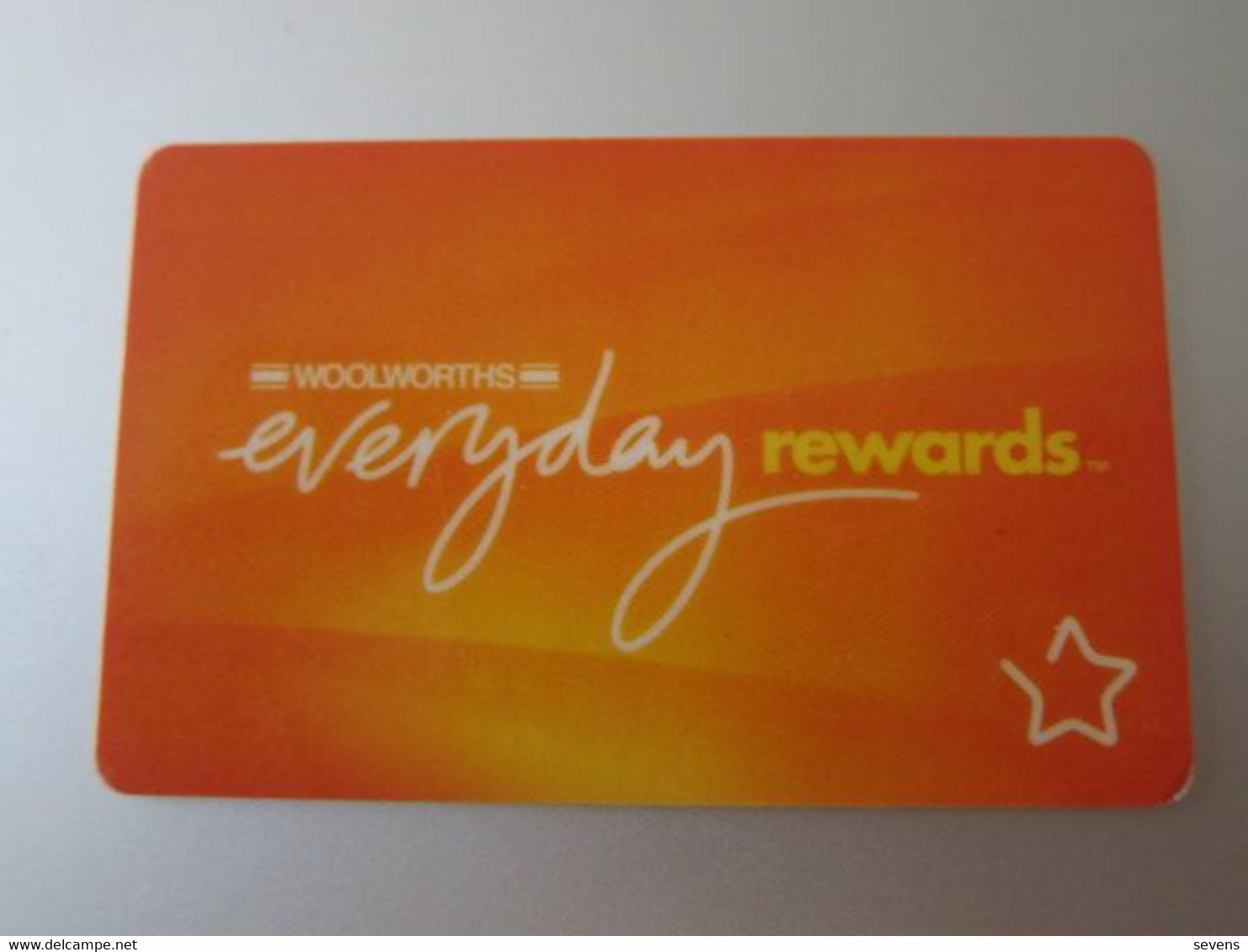Australia Caltex/Woolworths Rewards Card - Unclassified