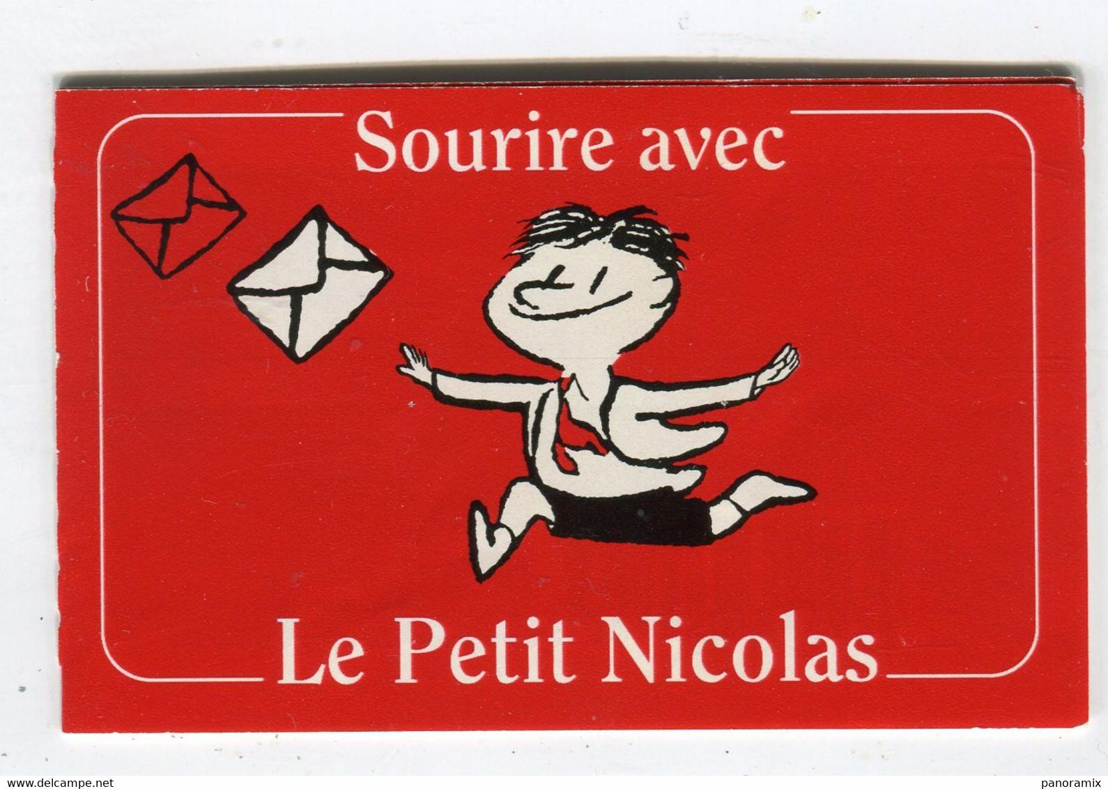 Carte De Visite °_ Carton-Carnet Timbres Vide-Petit Nicolas R/V - Visiting Cards