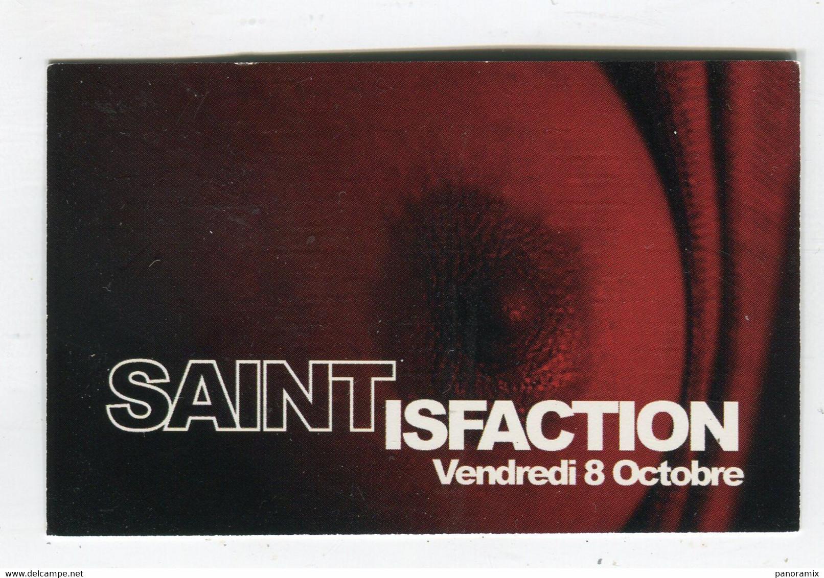 Carte De Visite °_ Carton-Paris Bouge-D.J Au Saint-Pass Gratuit-75005 - Visiting Cards