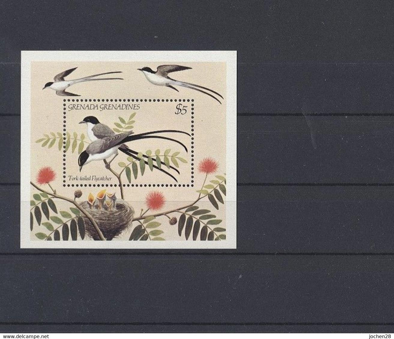 Grenada/Grenadinen 1984 - MiNr. Block 80 - Vögel - Postfrisch - MNH - ** - Grenada (1974-...)