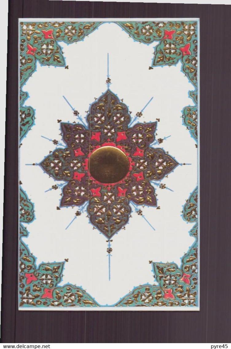 Carte De Visite Vierge ( Rosace ) - Visiting Cards