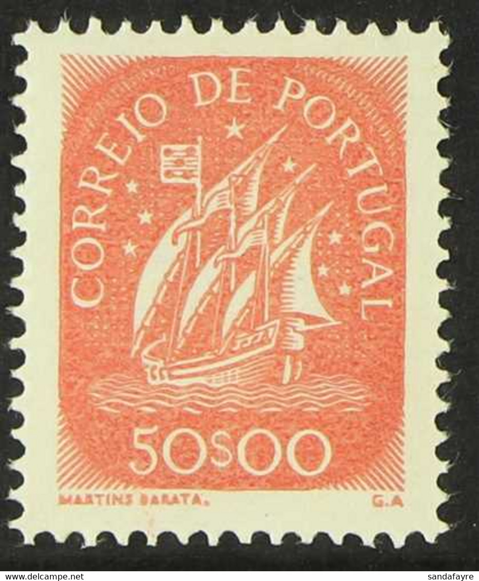 1943 50E Red Caravel (Michel 662, SG 958) Never Hinged Mint, Very Fresh. For More Images, Please Visit Http://www.sandaf - Unclassified