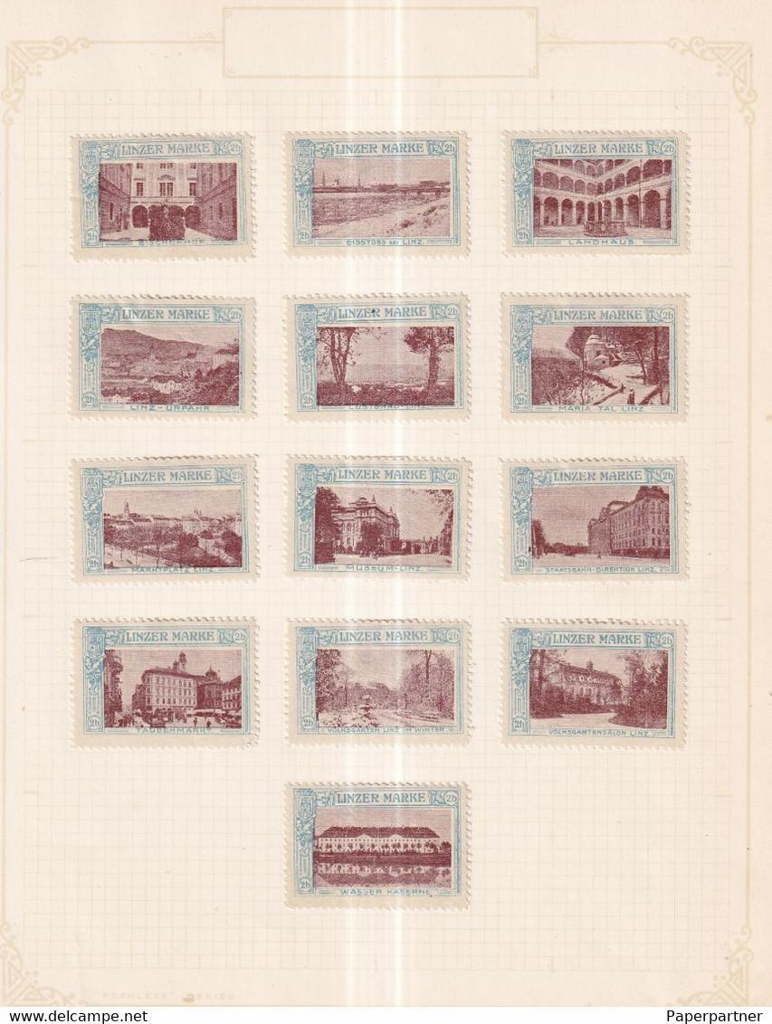 Austria German Österreich Poster Stamps Vignette Group 2 Scan - Neufs