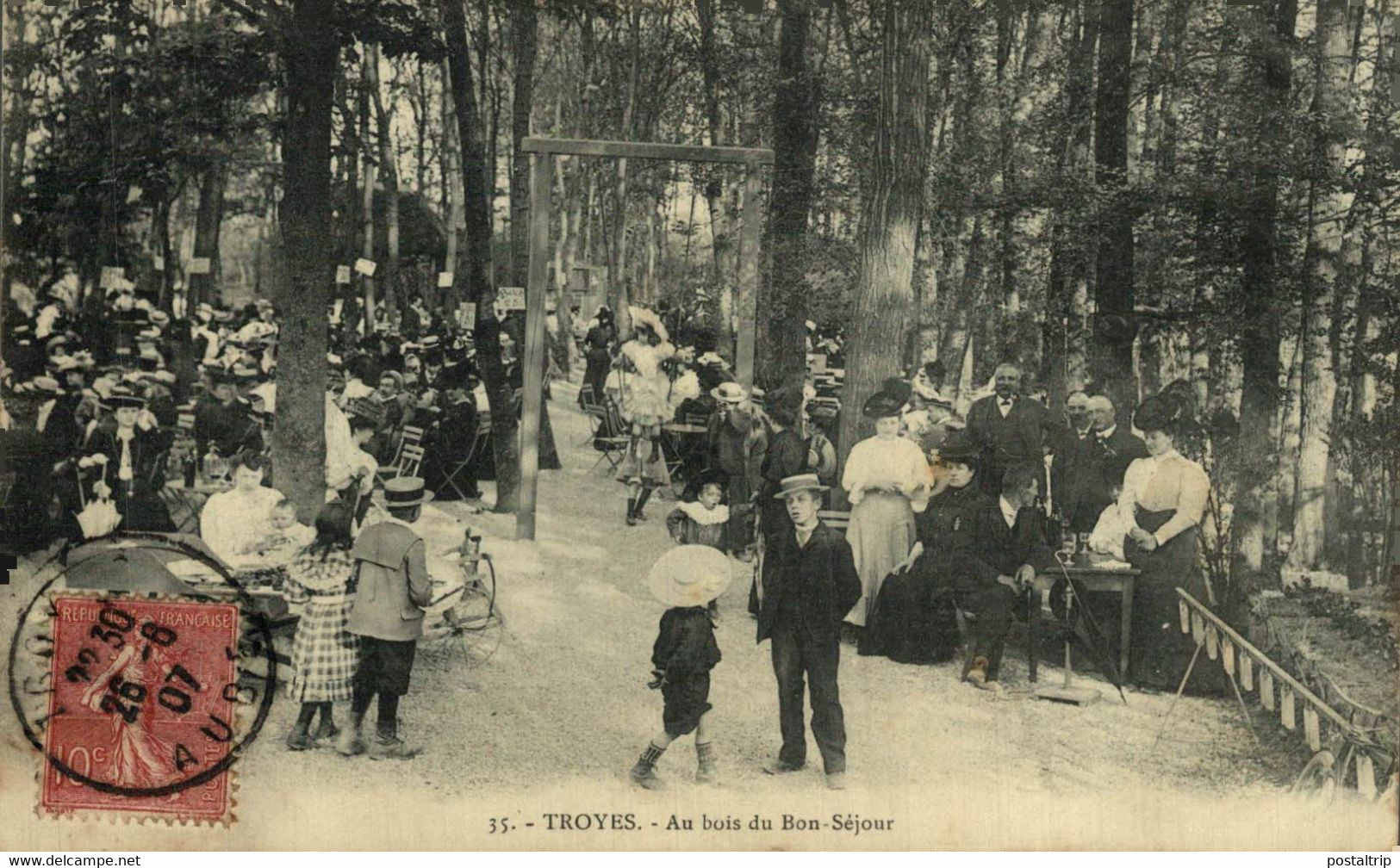 Troyes  Au Boui Du Bon Séjour  10Aube France Frankrijk Francia - Troyes