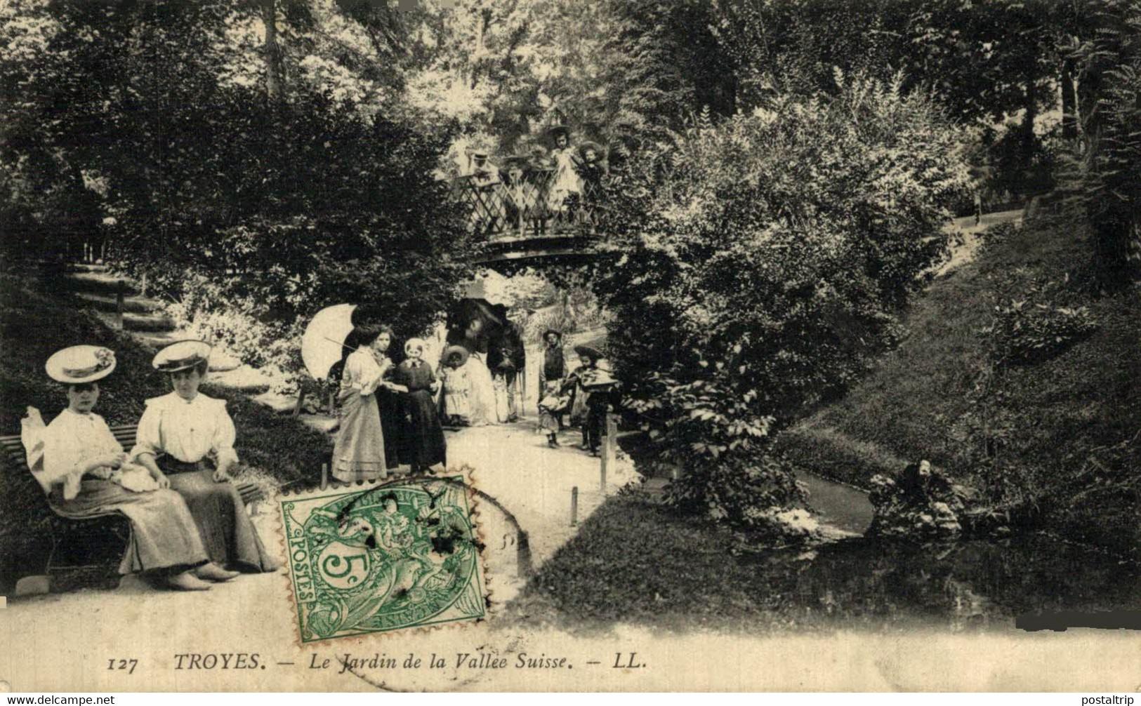 Troyes  Le Jardin De La Valle Suisse  10Aube France Frankrijk Francia - Troyes