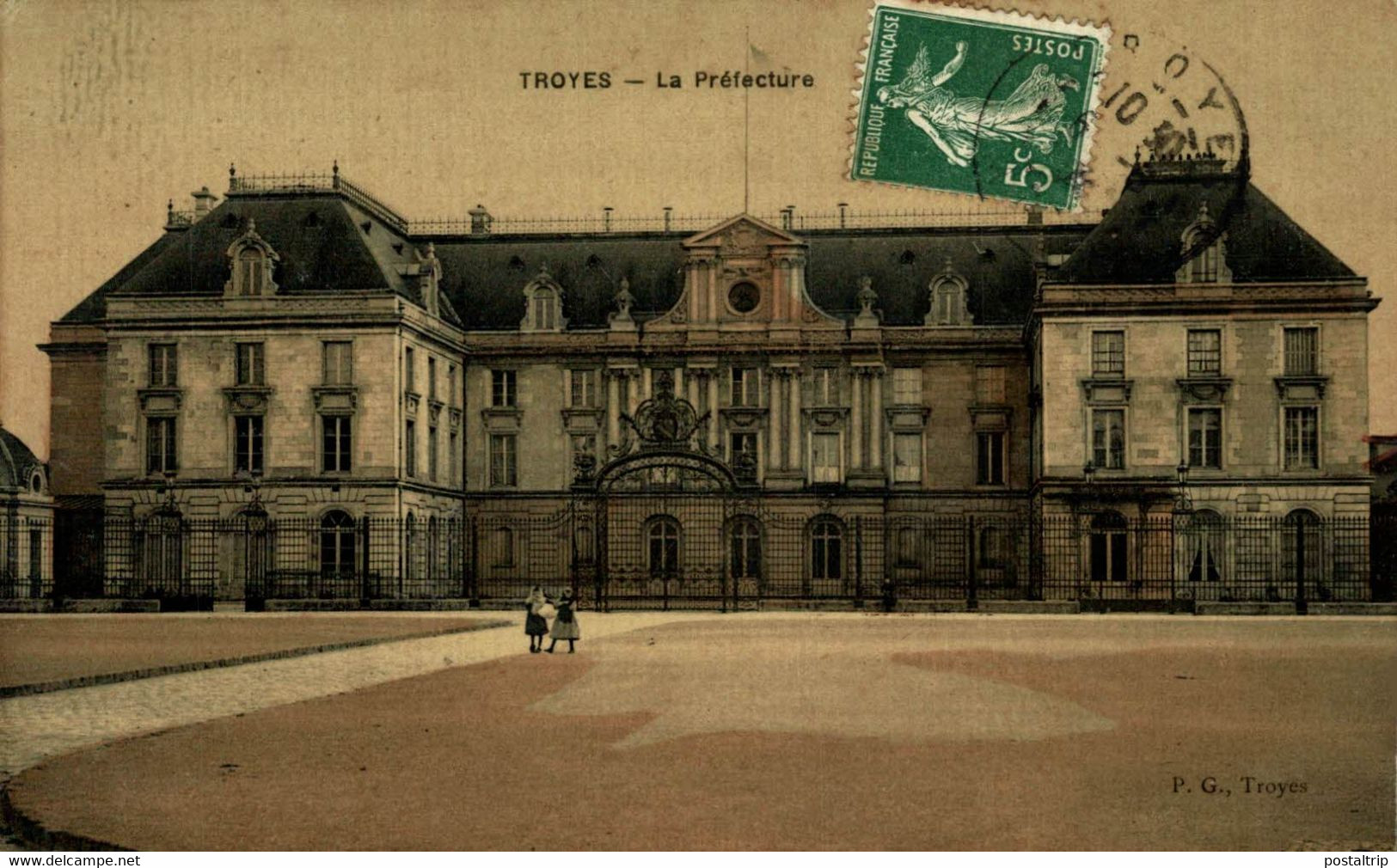 Troyes  La Préfecture  10Aube France Frankrijk Francia - Troyes