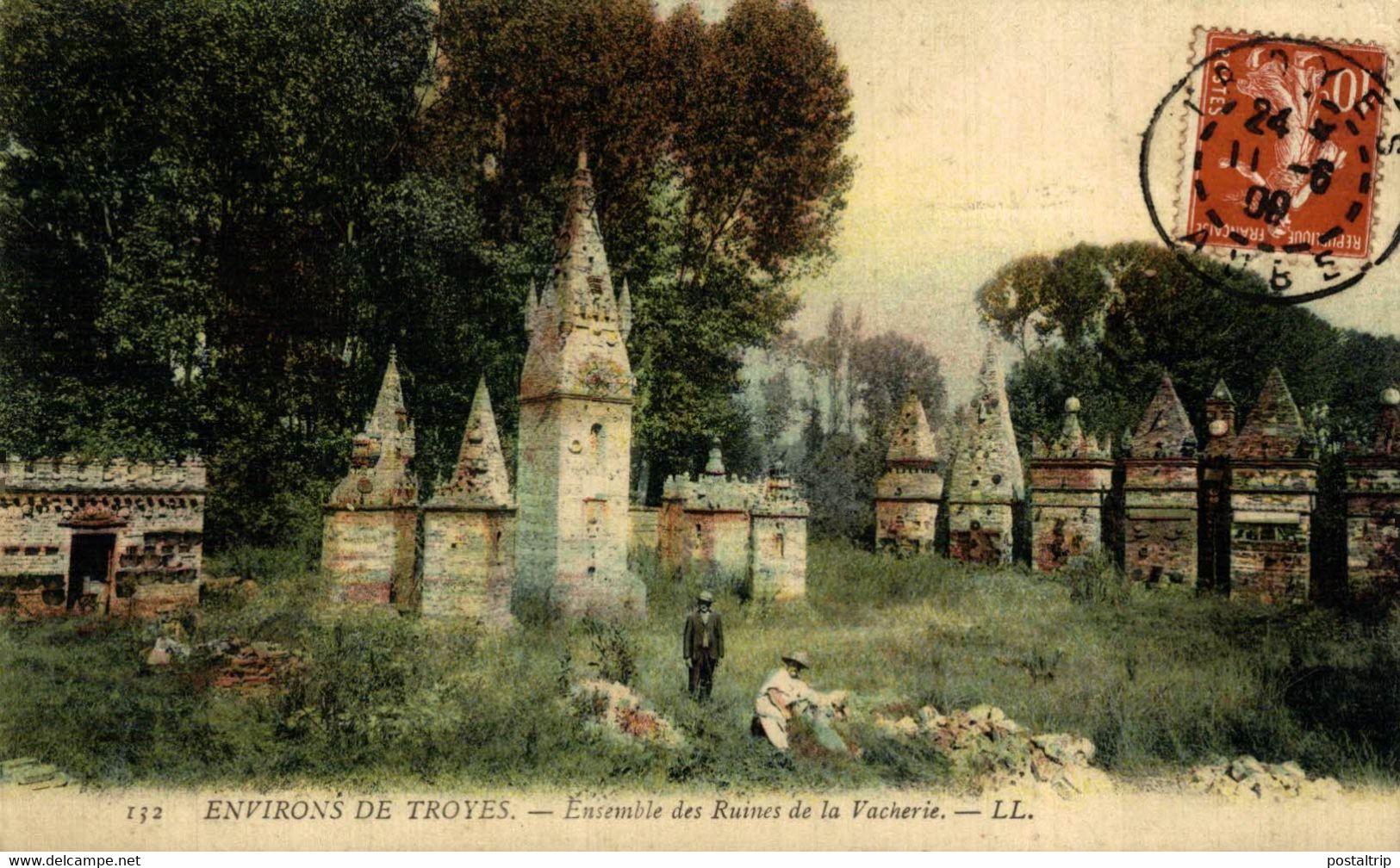Troyes  Environs De Troyes Ensemble Des Ruines De La Vacherie  10Aube France Frankrijk Francia - Troyes