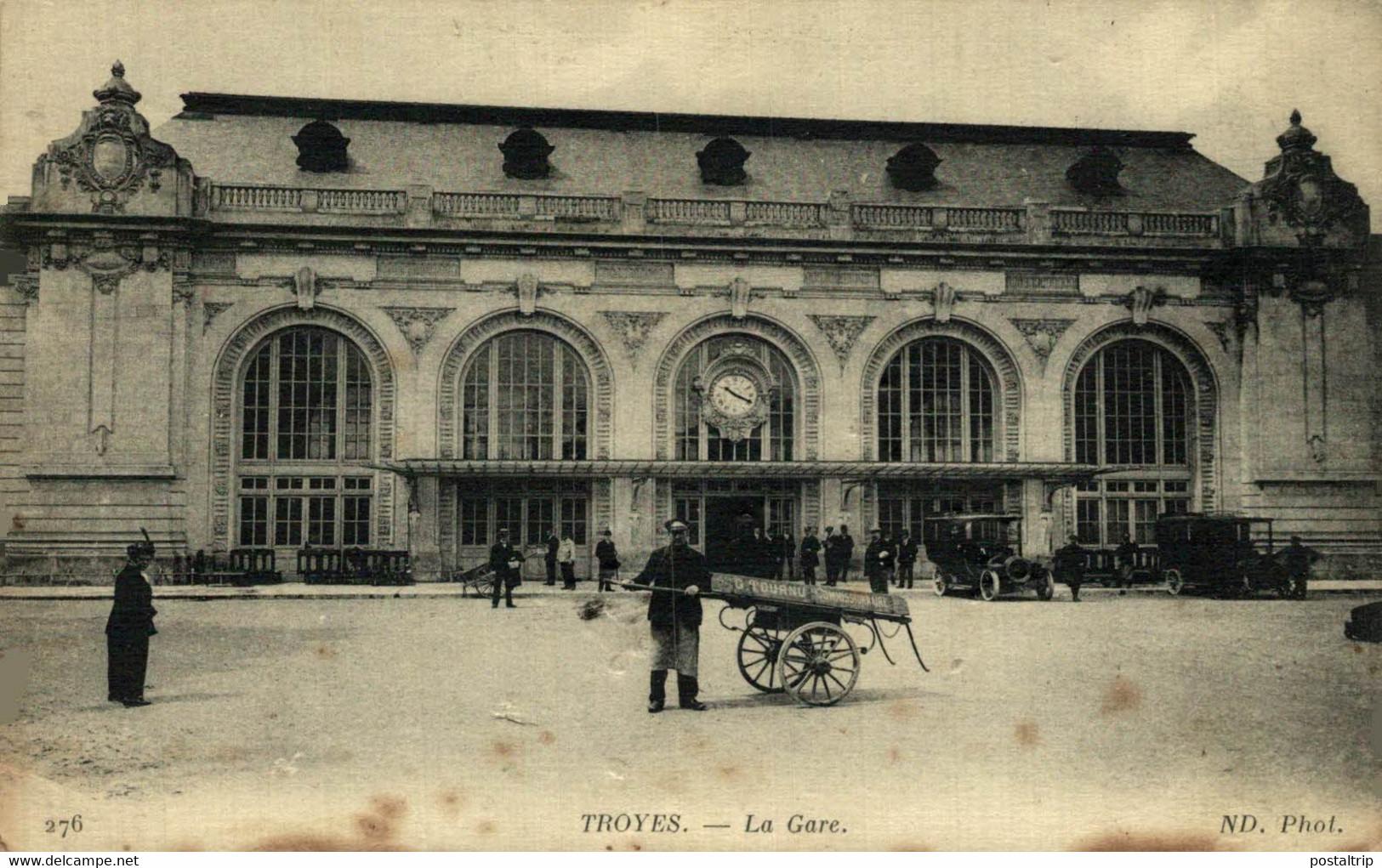 Troyes La Gare  10Aube France Frankrijk Francia - Troyes
