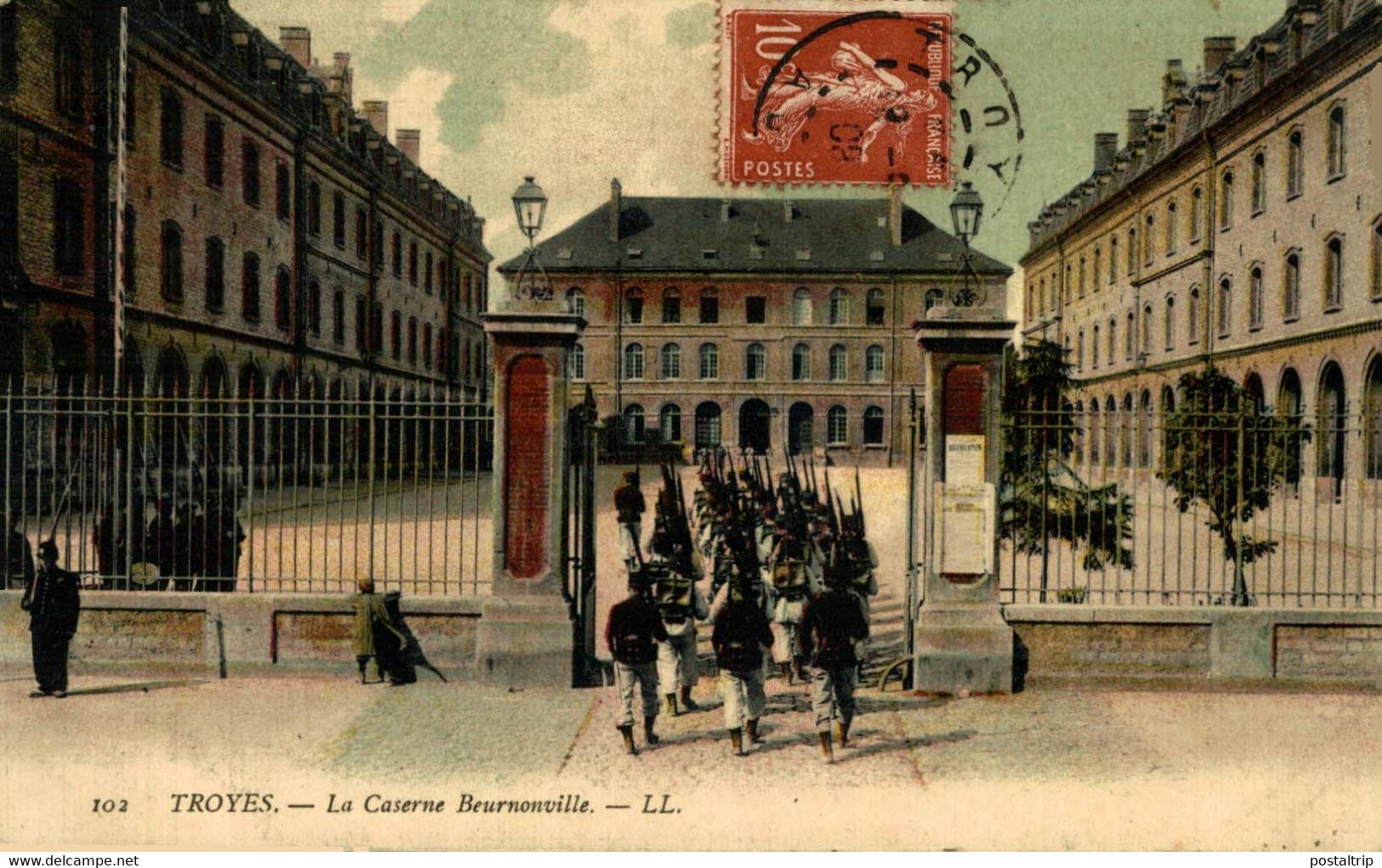 Troyes La Caserne Beurnonville  10Aube France Frankrijk Francia - Troyes