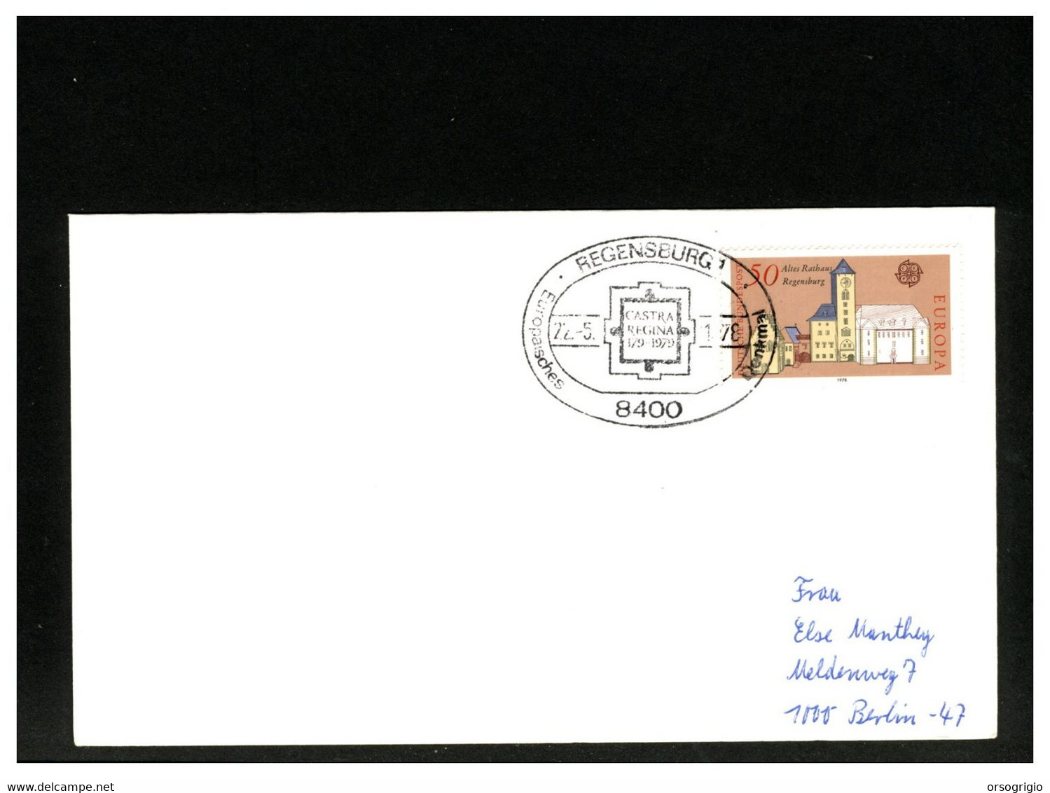 GERMANIA - 1978 - REGENSBURG - CASTRA REGINA 179-1979 - Fortezza Legionaria Della Legio III Italica A Partire Dal 179 - Archéologie