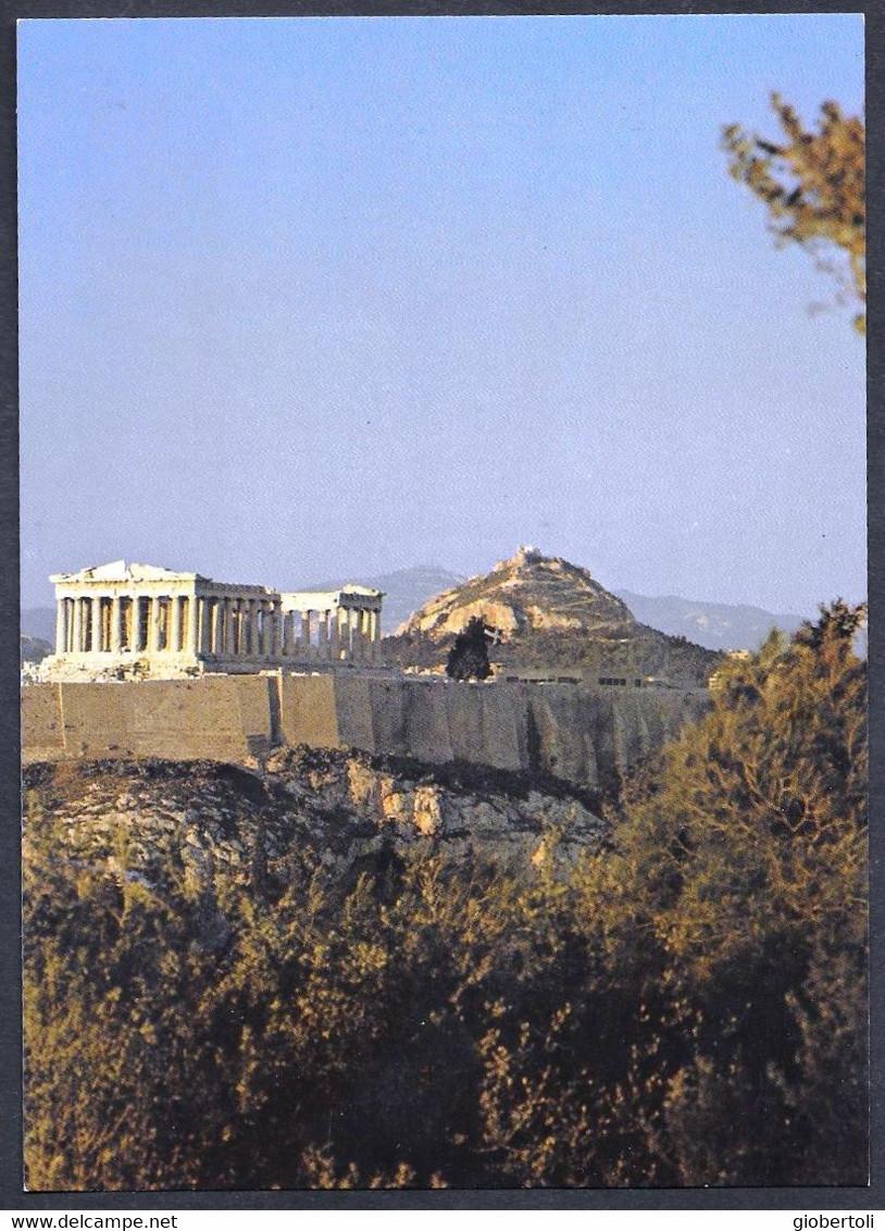 Grecia/Greece/Grèce: Intero, Stationery, Entier, L'Acropoli Di Atene, The Acropolis Of Athens, L'Acropole D'Athènes - Archéologie