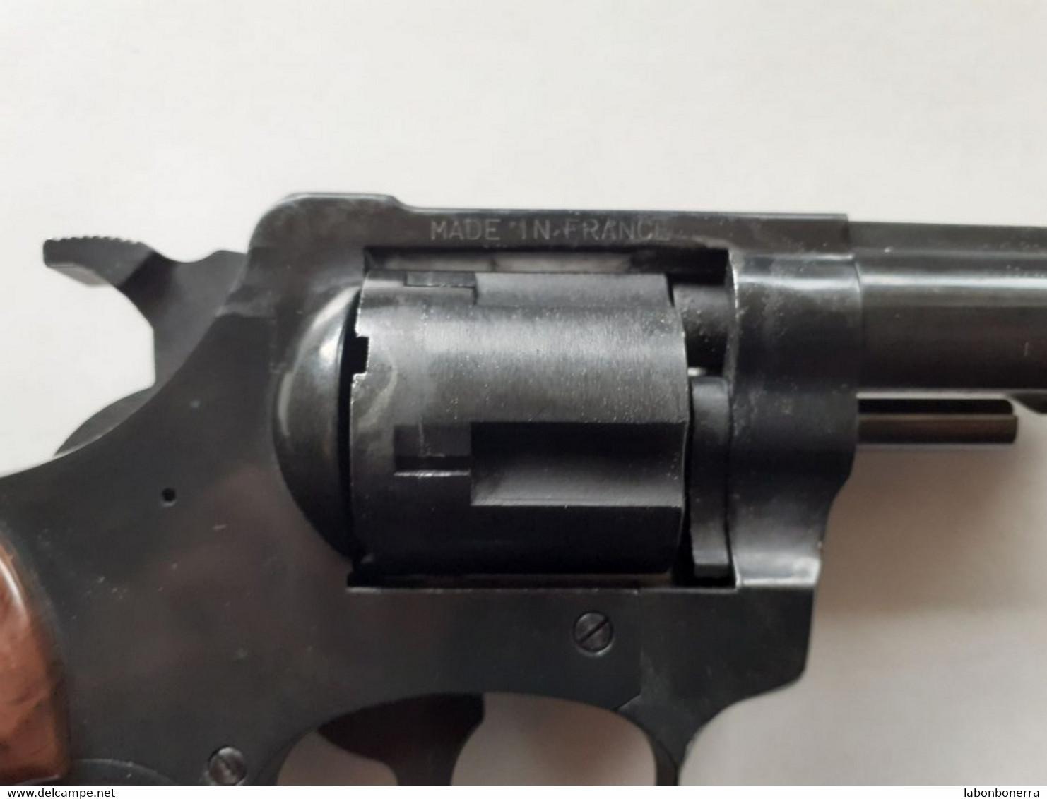 PISTOLET 9mm À BLANC RG 79 G-ROHM FABRICATION SAINT ÉTIENNE PAS COURANT - Armi Da Collezione