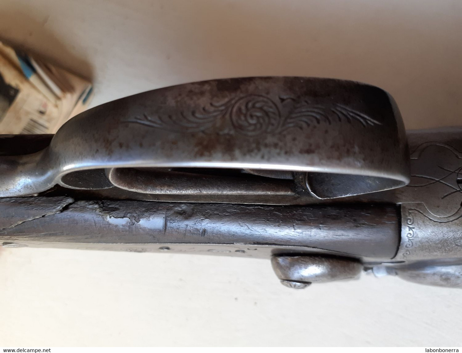ANCIEN FUSIL A CHIEN 16/70 POINÇON COURONNE ELG - Armi Da Collezione