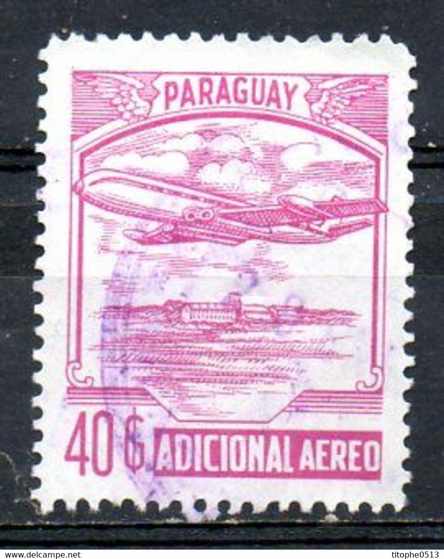 PARAGUAY. Timbre Adicional Aero Oblitéré. Avion. - Paraguay
