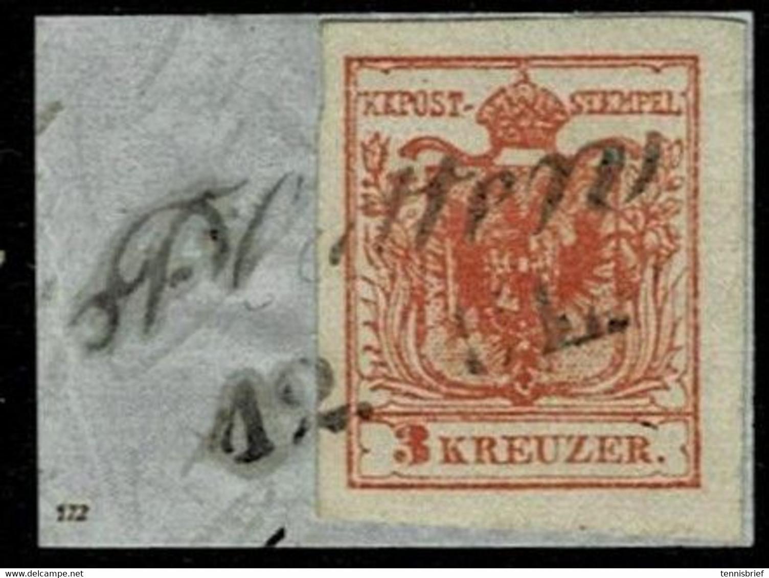 """(1850) Nr. 3, Klar """" Platten """"  ,  A4853 - Usados"""