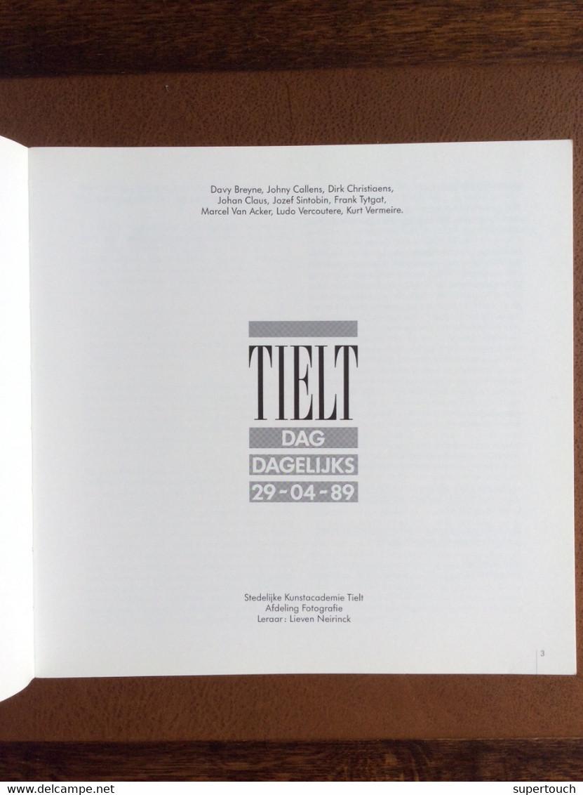Tielt Dag-Dagelijks 29-04-89 Fotoboek Kunstacademie - Unclassified