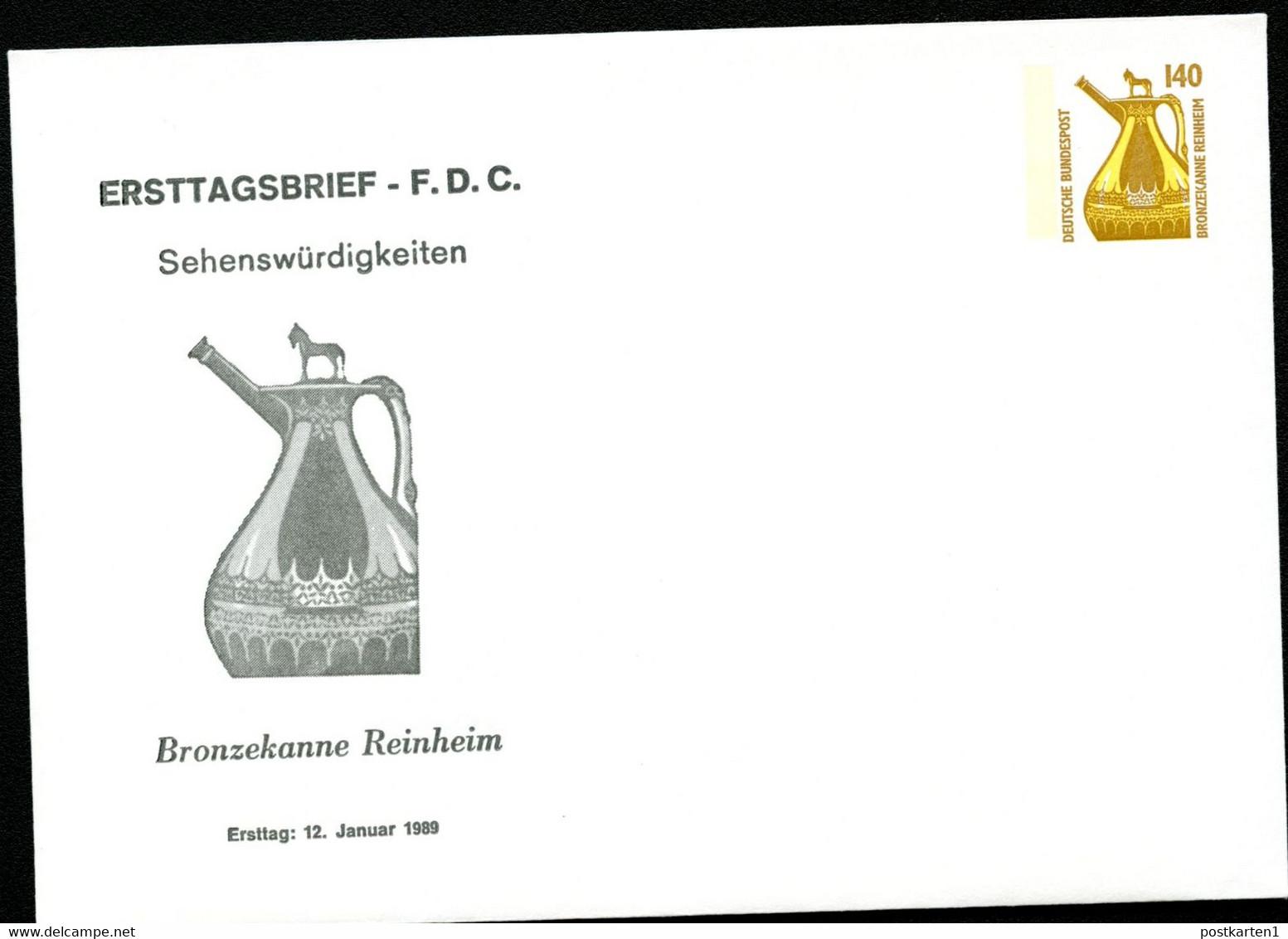 BRONZEKANNE REINHEIM Bund PU294 D1/001 1989 NGK 8,00 € - Archéologie