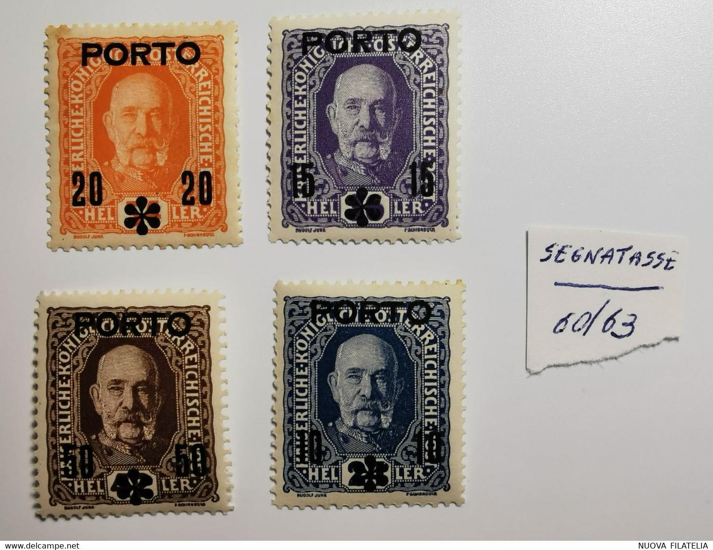 AUSTRIA 1917 SEGNATASSE - Nuevos