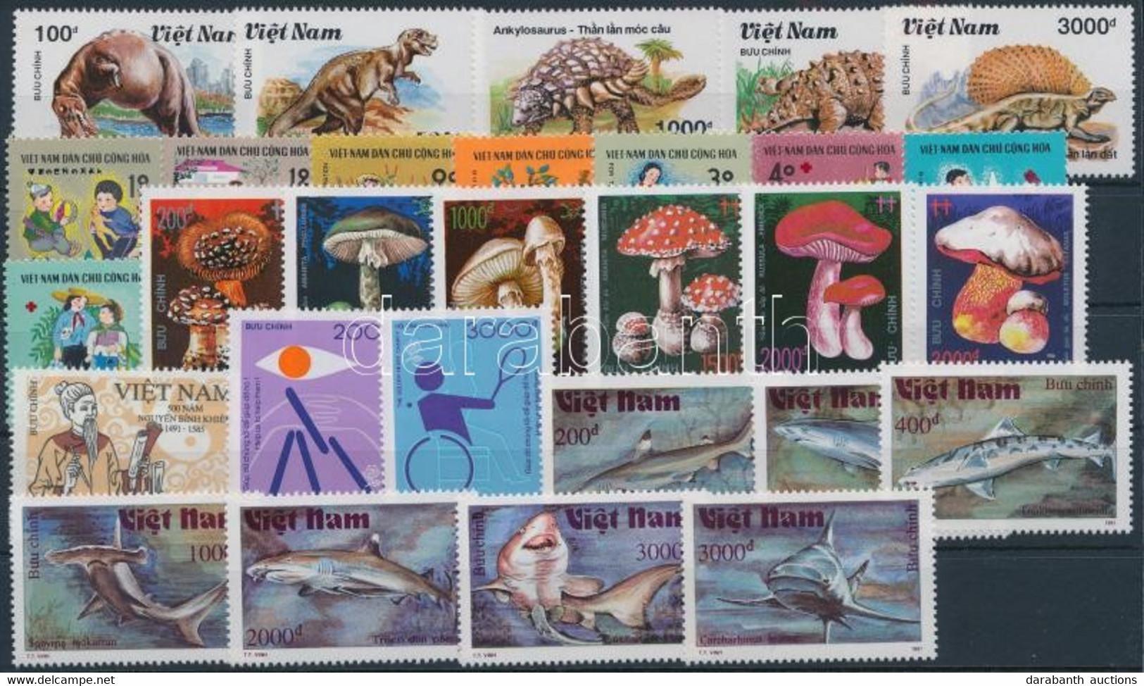 (*) 1990-1991 29 Klf Bélyeg, Közte Sorok - Unclassified