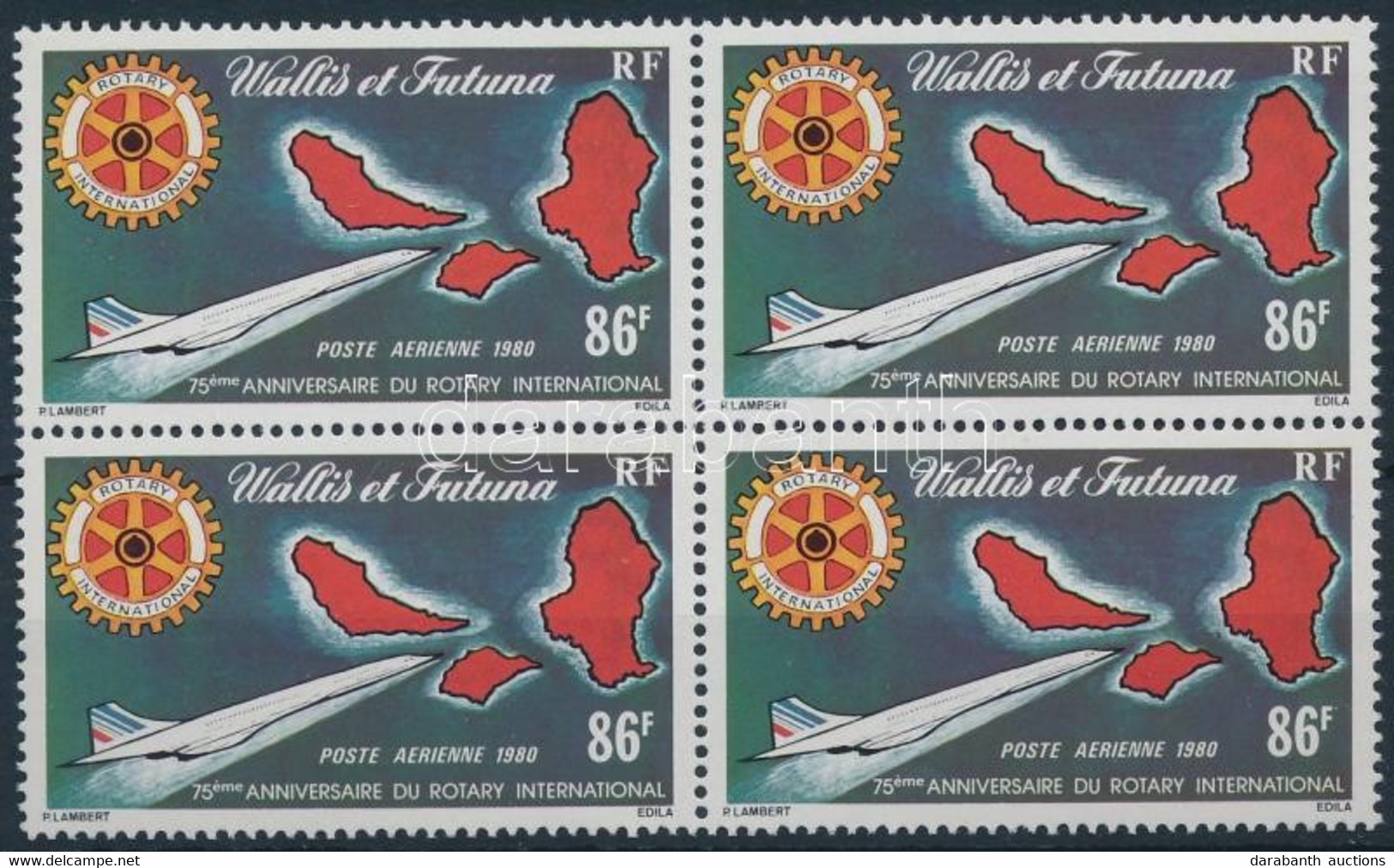 ** 1980 Rotary Négyestömb Mi 368 + FDC - Unclassified