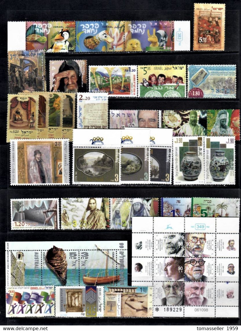 IZRAEL-14 YEARS!!!. (1994-2007y.y.) Sets.Almost 300 IssuesMNH - Full Years