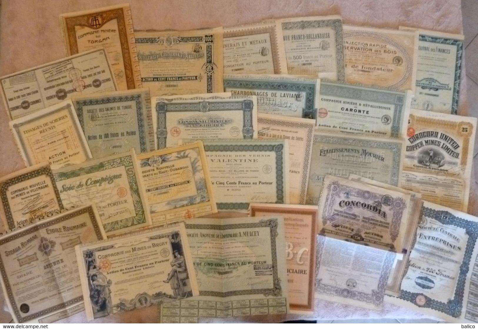 Lot De 25 Titres Différents -  ( Déstockage Pas Cher) Réf, 108 (voir Ci Dessous Les 25 Titres ) - Unclassified