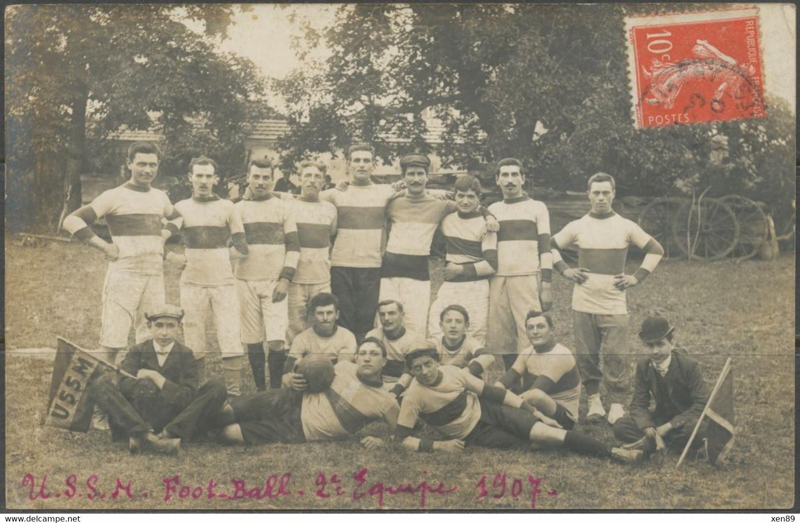 CARTE PHOTO - SAINT-MAIXENT - Equipe De Rugby -- Rugby à XIII ? Rugby à XV ? -- - Saint Maixent L'Ecole