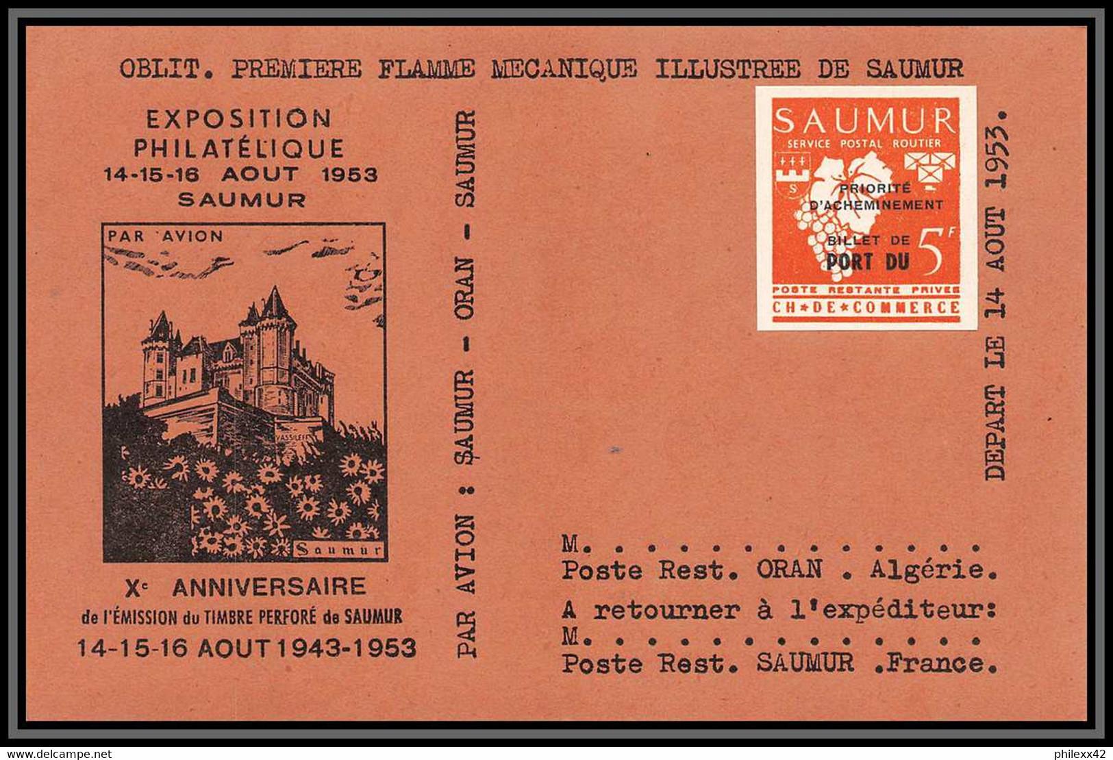 Depart 1 Euro Collection De Timbres De Grève - Saumur 1953 Bel Ensemble Cote +/- 1000 Euros - France - Strike Stamps