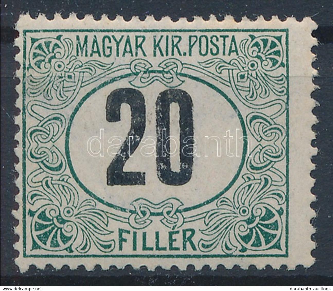 ** 1908 Zöldportó 20f (14.000) - Unclassified
