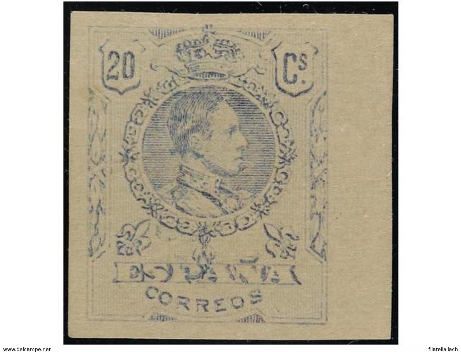 SPAIN: ALFONSO XIII 1889-1931 - Non Classificati