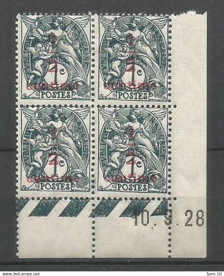 Coins Datés De France Neuf *  N 157  Année 1928  Charnière En Haut - ....-1929