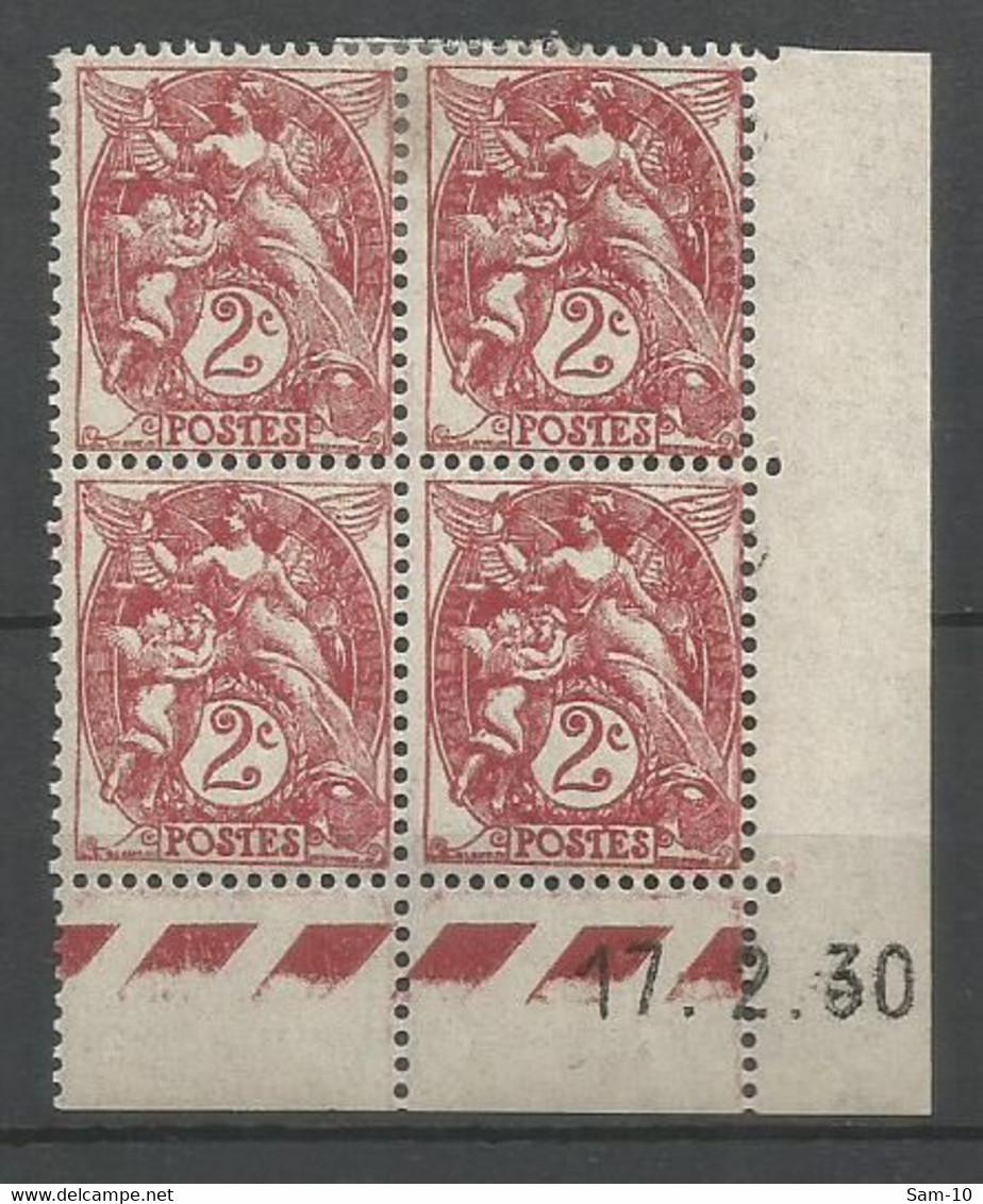 Coins Datés De France Neuf *  N 108  Année 1930  Charnière En Haut - ....-1929