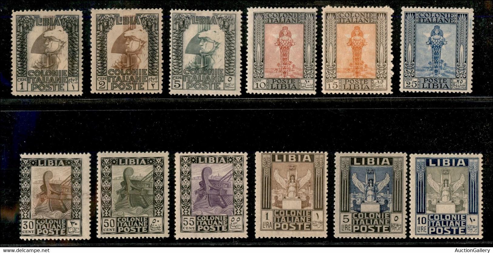 Colonie - Libia - 1921 - Pittorica (21/32) - Serie Completa - Gomma Originale (1.100) - Unclassified