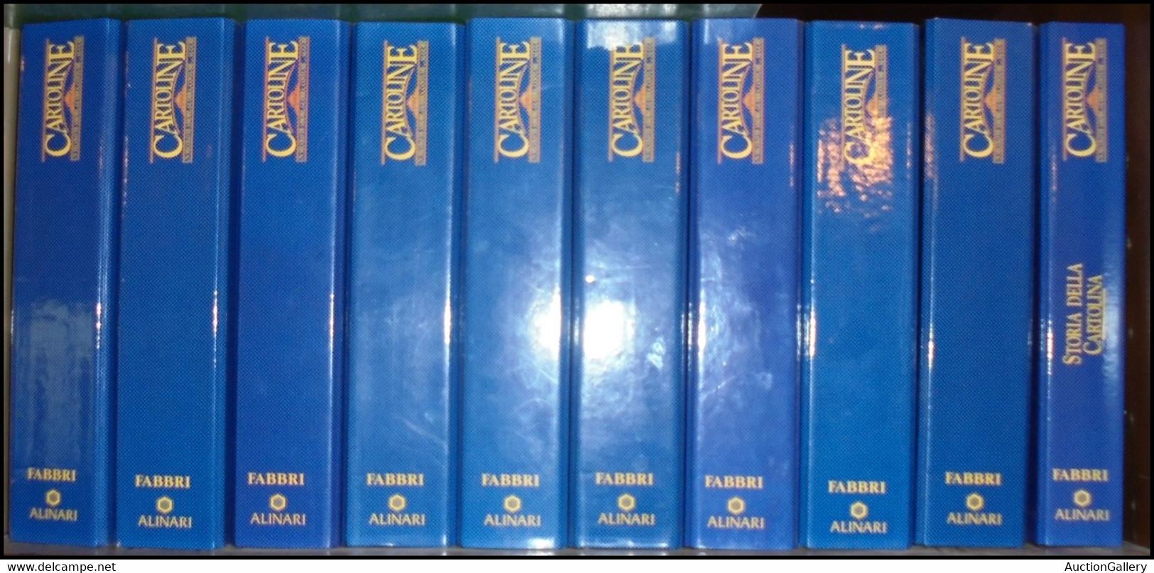 CARTOLINE- 1993 - Cartoline Un Secolo Di Amore Guerra Costume Auguri - Edizione Fabbri Alinari - 10 Volumi Completi Di R - Non Classificati