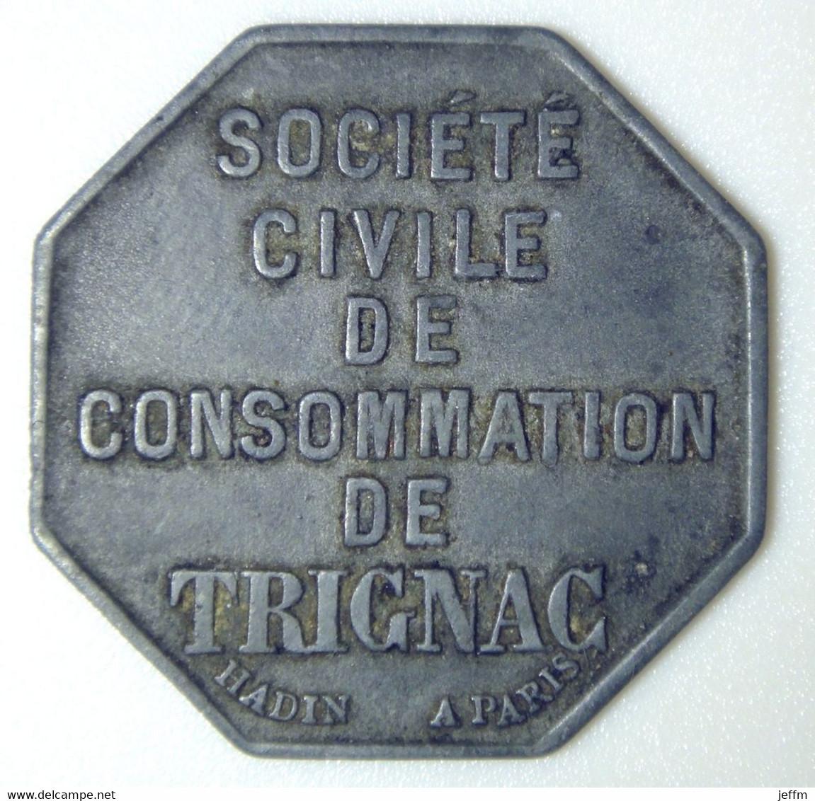 Trignac - Société Civile De Consommation - 5 F - Monetari / Di Necessità