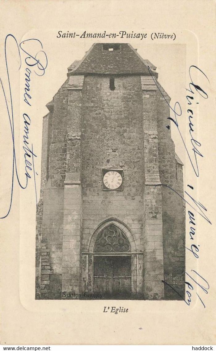 SAINT AMAND EN PUISAYE : L'EGLISE - Saint-Amand-en-Puisaye