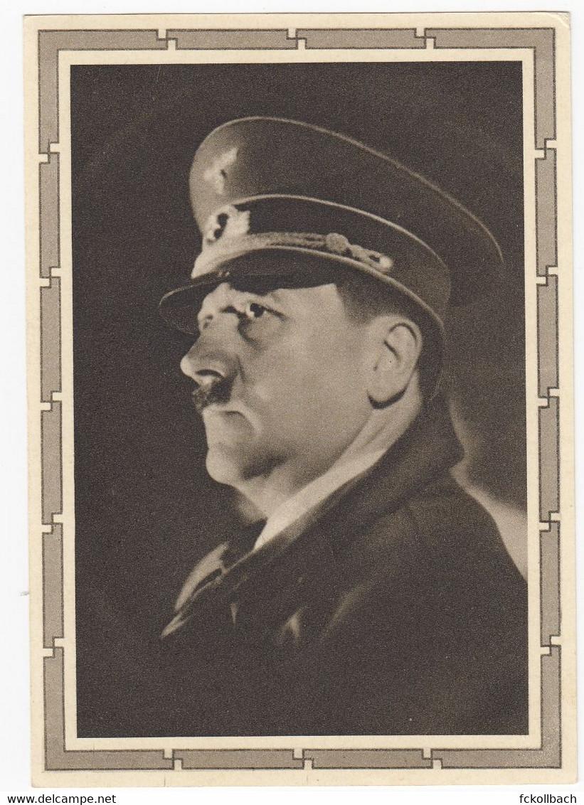 Ganzsache MiNr P 278 Geburtstag Adolf Hitler 1939 Sonderstempel München Nach Dachau - Stamped Stationery