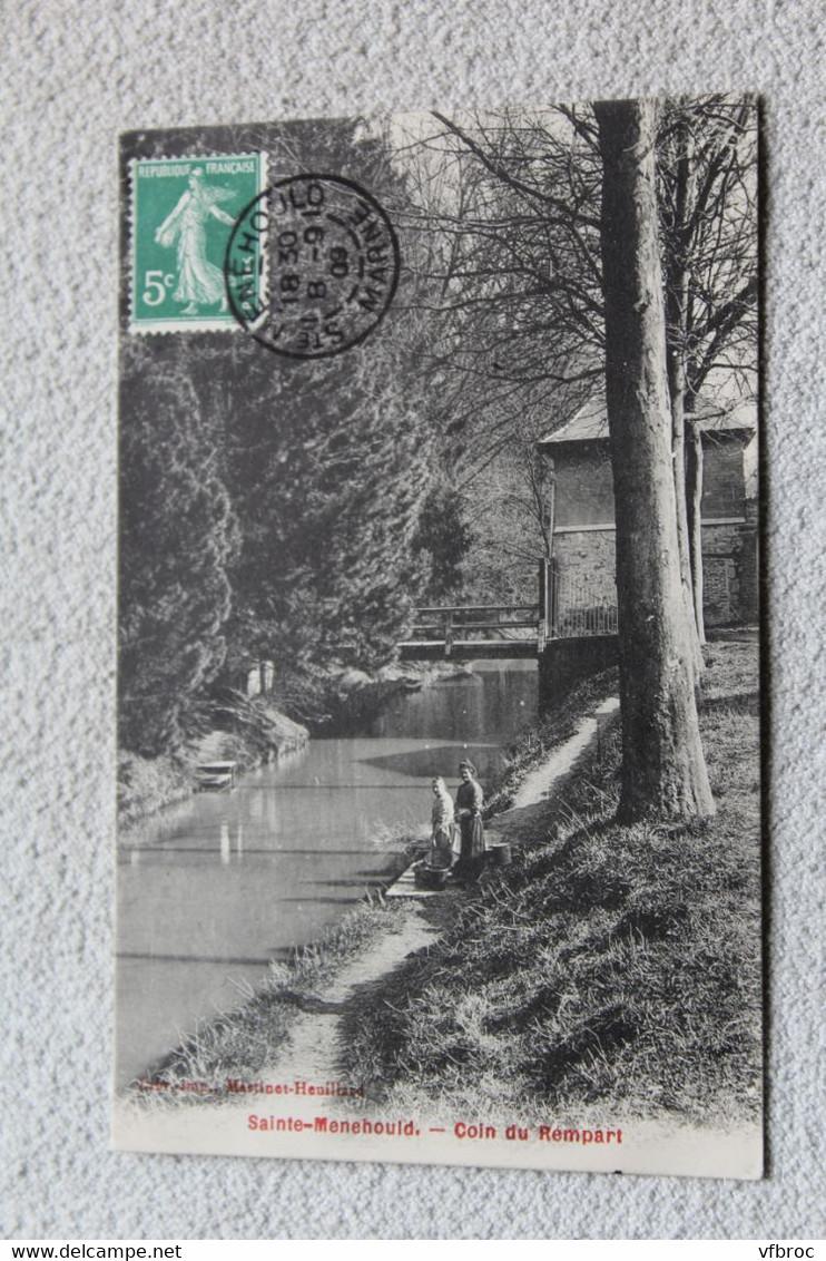 Sainte Menehould, Coin Du Rempart, Marne 51 - Sainte-Menehould