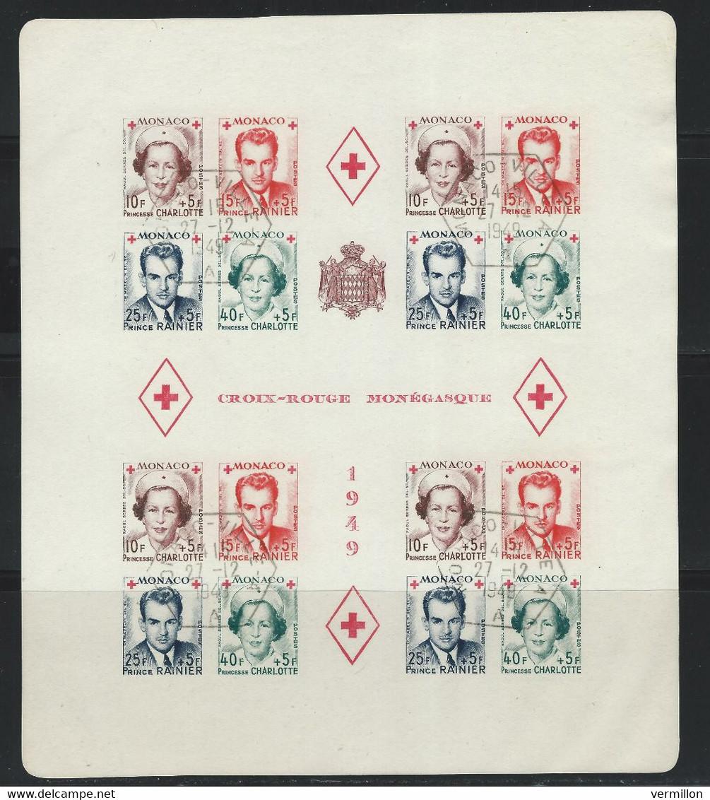 CZ-/-022- YVERT -  CROIX-ROUGE  BF N° 3B, OBL. , COTE 330.00 € , IMAGE DU VERSO SUR DEMANDE - Used Stamps