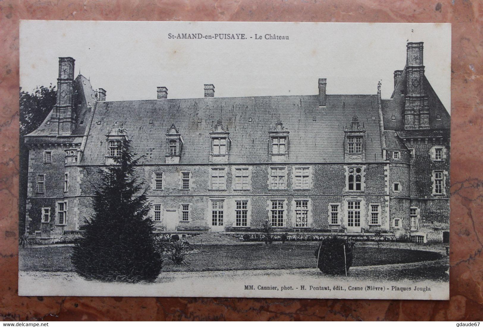 SAINT-AMAND-EN-PUISAYE (58) - LE CHATEAU - Saint-Amand-en-Puisaye