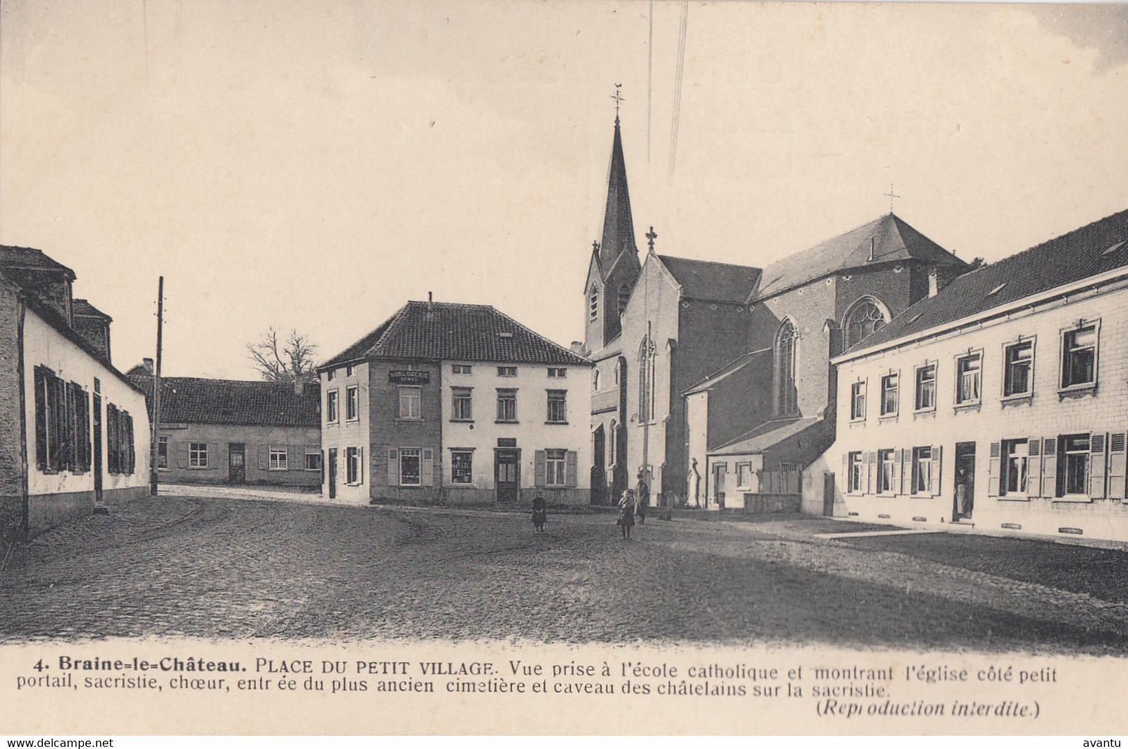 BRAINE LE CHATEAU / PLACE DU PETIT VILLAGE - Braine-le-Chateau