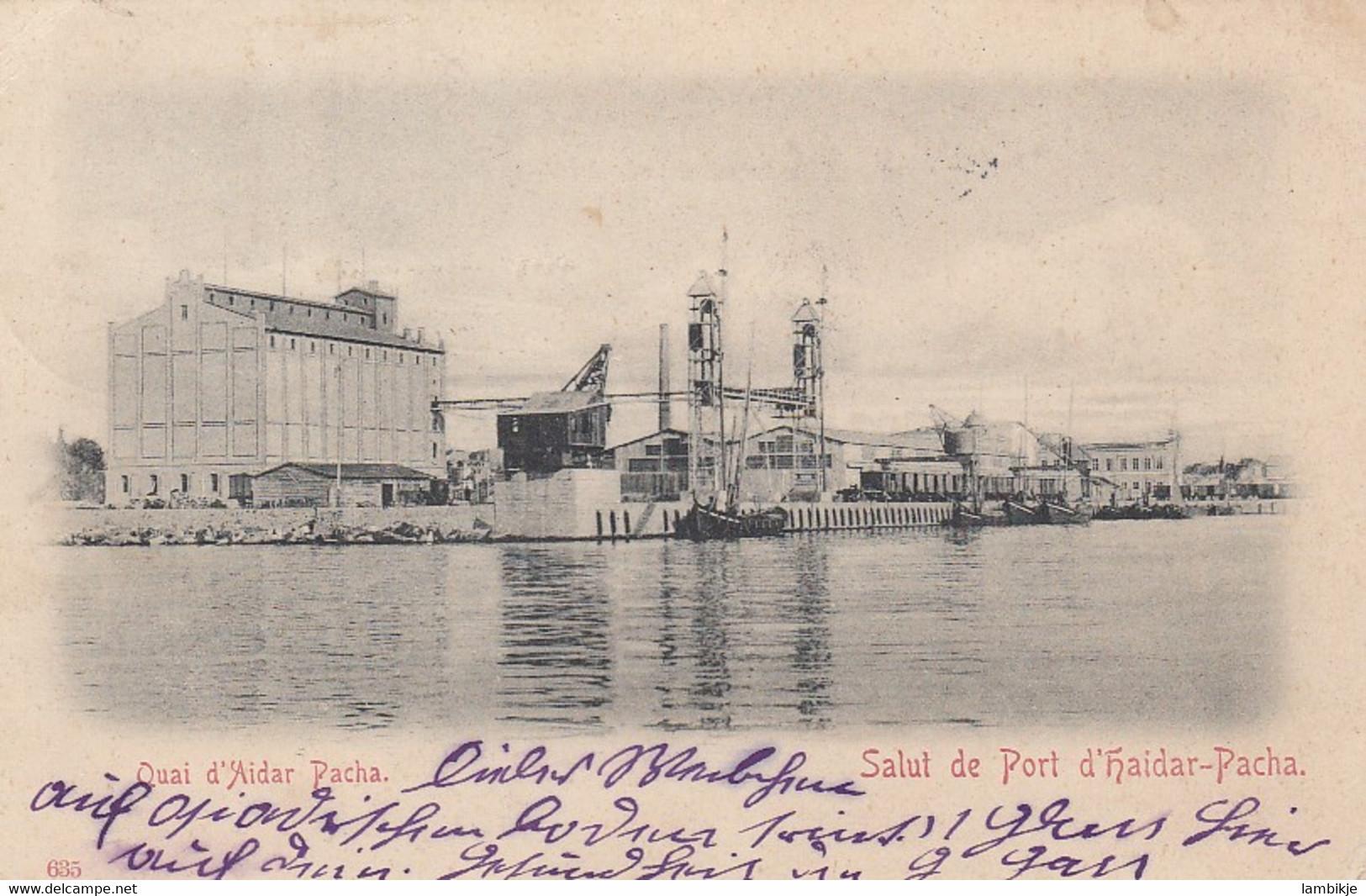 Deutsches Reich Turkei Postkarte 1906 - Officina: Turquia