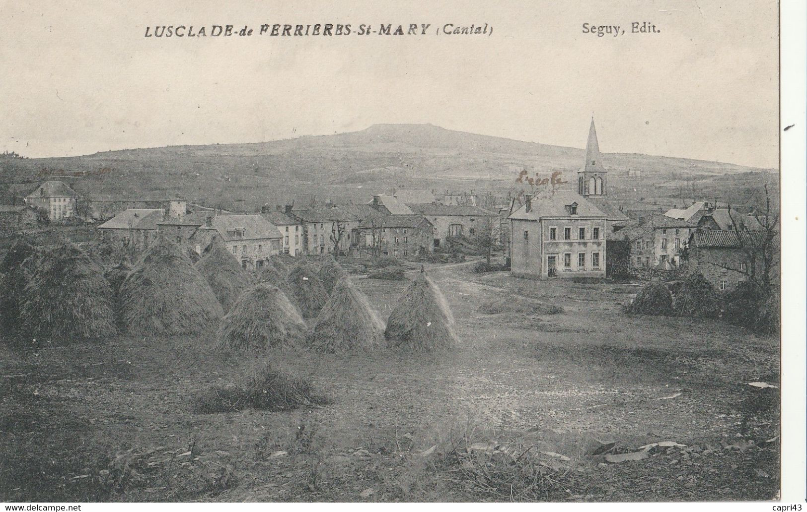 15 VILLAGE DE LUSCLADE Cne De FERRIERES ST MARIE - Other Municipalities