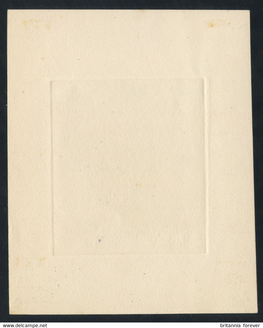 Morocco 1953 Cavaliers Maures 30fr (Yv. 326) EPREUVE D'ARTISTE (artist's Proof) In Dark Brown, SIGNED CHARLES MAZELIN - Unused Stamps