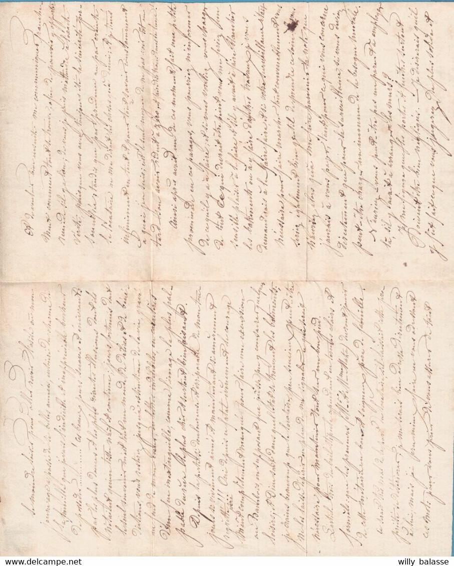 Doc D'Anvers Signé Baudin (peintre) Avec N°7 Neuf (Dft) Pour La Réponse. - 1851-1857 Medallions (6/8)