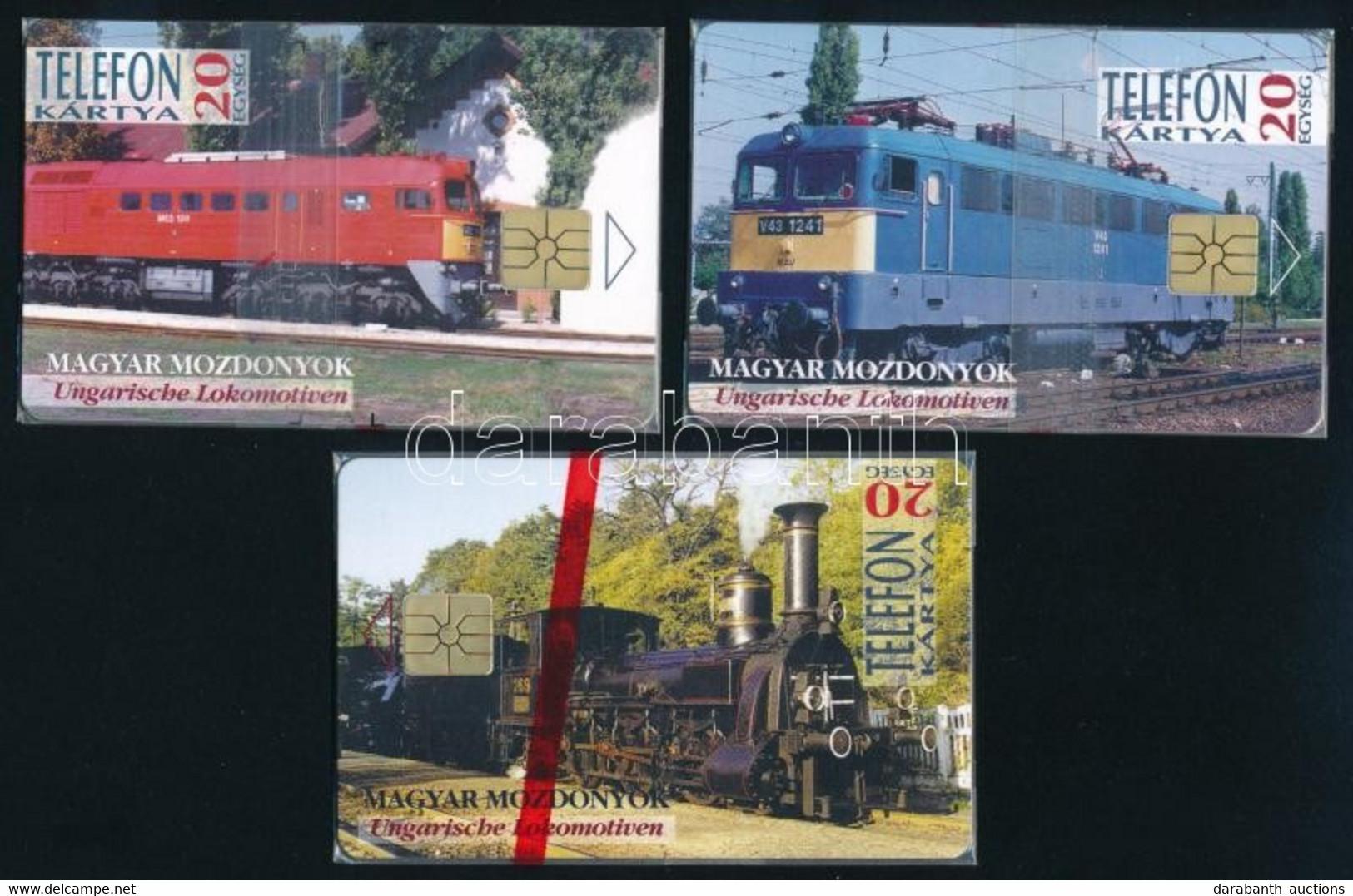 1995 MÁV Vasút Sorozat (gőzmozdony, V43, M62), Bontatlan Csomagolásban - Unclassified