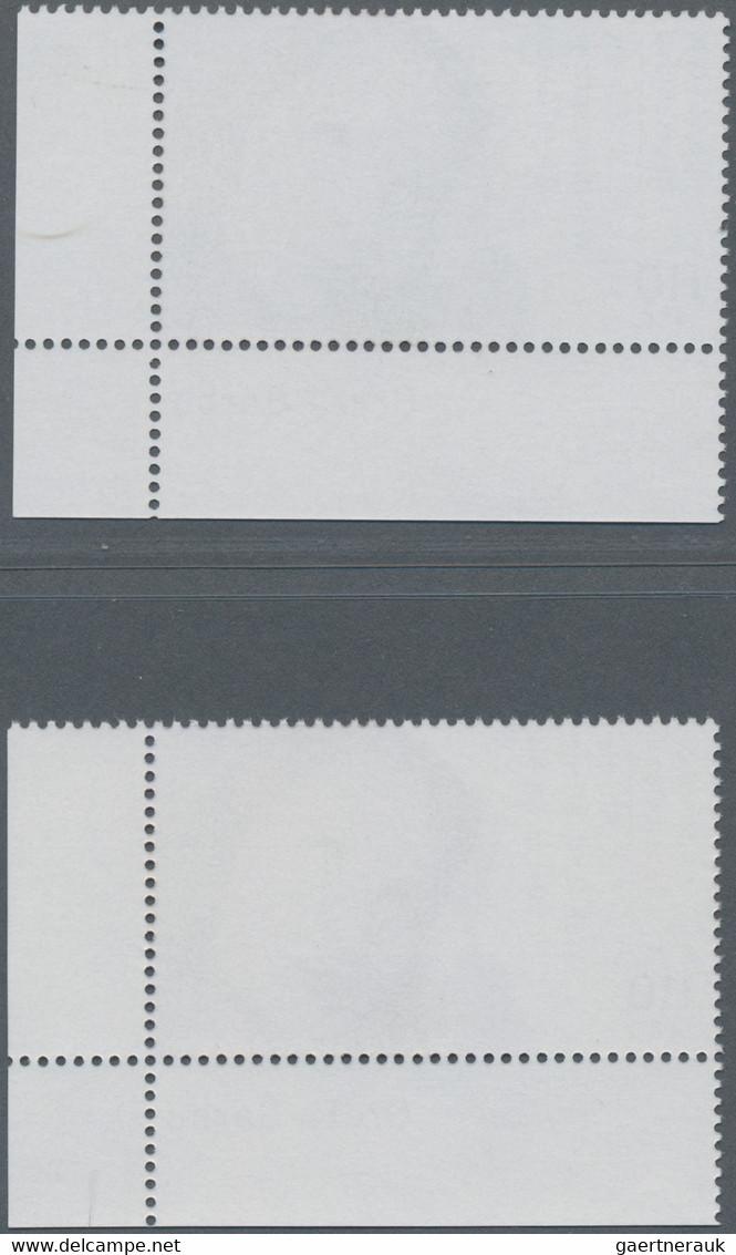 Bundesrepublik Deutschland: 2001, PROBEDRUCK Wohlfahrt Filmschauspieler - Greta Garbo, 110 + 50 Pf / - Unused Stamps