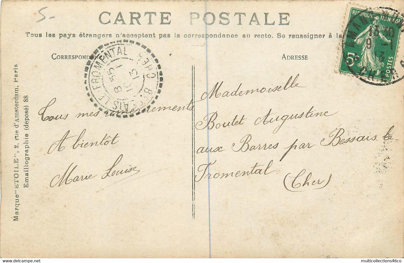 260621A - 18 SAINT AMAND Cher - Rue Benjamin Constant - Hôtel De La Marine - Etoile - Saint-Amand-Montrond
